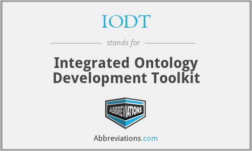 IODT - Integrated Ontology Development Toolkit