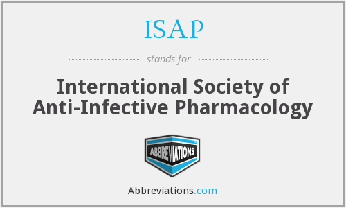 ISAP - International Society of Anti-Infective Pharmacology