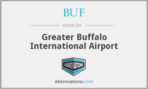 BUF - Greater Buffalo International Airport