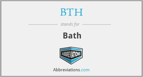 BTH - Bath