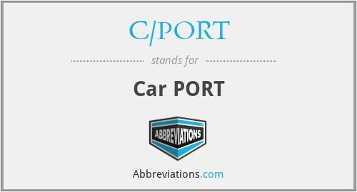 C/PORT - Car PORT