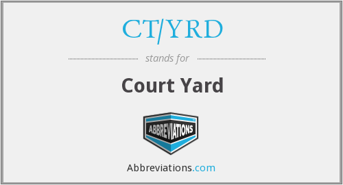 CT/YRD - Court Yard