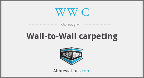 WW C - Wall-to-Wall carpeting