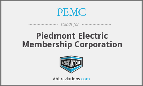 PEMC - Piedmont Electric Membership Corporation