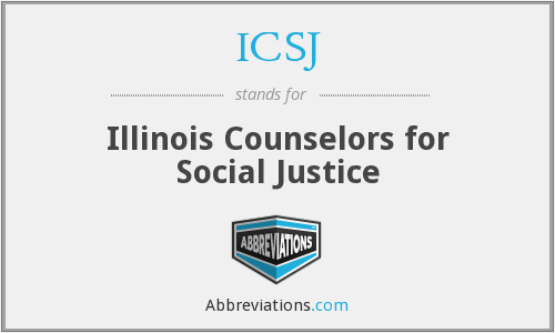 ICSJ - Illinois Counselors for Social Justice
