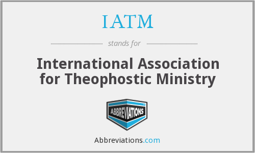 IATM - International Association for Theophostic Ministry