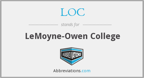 LOC - LeMoyne-Owen College