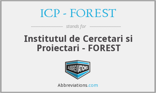 What does ICP - FOREST stand for?