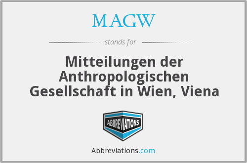 What does MAGW stand for?