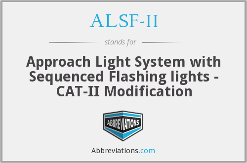 What does ALSF-II stand for?