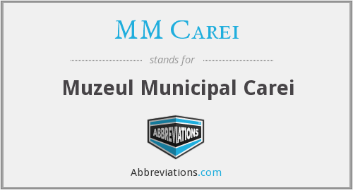 What does MM CAREI stand for?