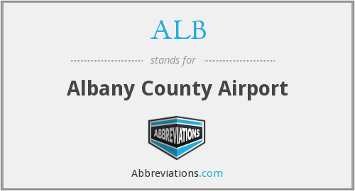 ALB - Albany County Airport