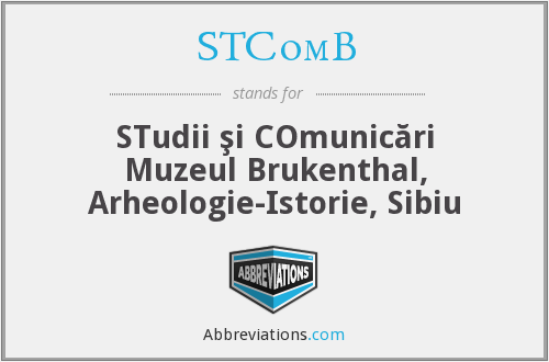 What does STCOMB stand for?