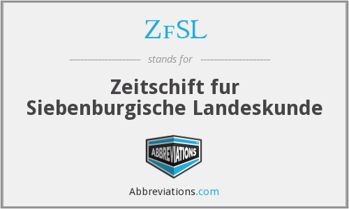 What does ZFSL stand for?