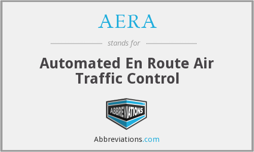 AERA - Automated En Route Air Traffic Control