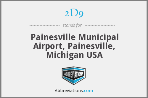 2D9 - Painesville Municipal Airport, Painesville, Michigan USA