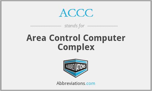 ACCC - Area Control Computer Complex