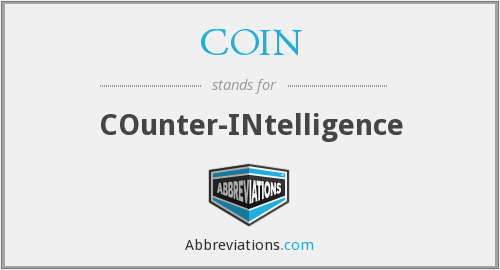 COIN - COunter-INtelligence