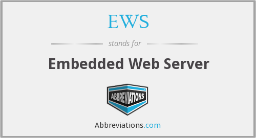EWS - Embedded Web Server