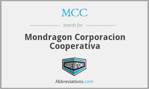 MCC - Mondragon Corporacion Cooperativa
