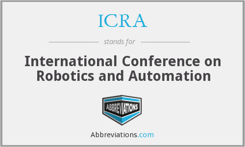 ICRA - International Conference on Robotics and Automation