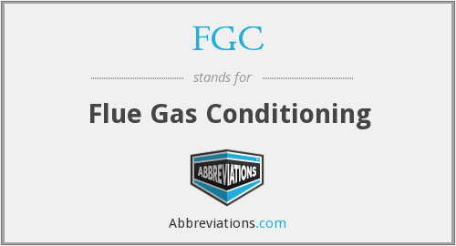 FGC - Flue Gas Conditioning