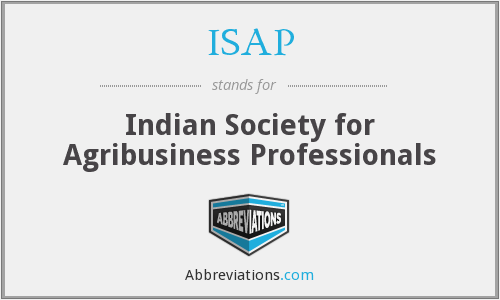 ISAP - Indian Society for Agribusiness Professionals