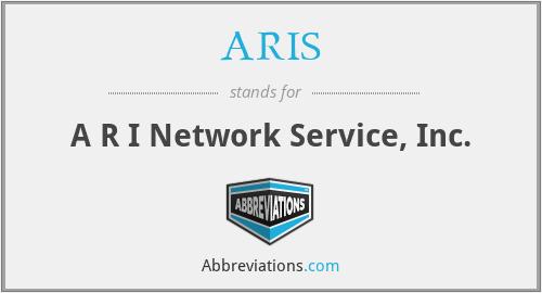 ARIS - A R I Network Service, Inc.
