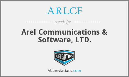 ARLCF - Arel Communications & Software, LTD.