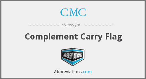 CMC - Complement Carry Flag