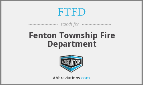 FTFD - Fenton Township Fire Department