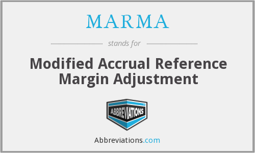 What does MARMA stand for?