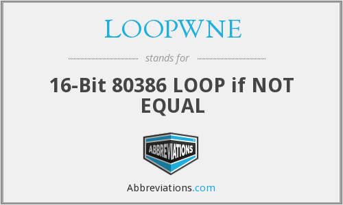 What does LOOPWNE stand for?
