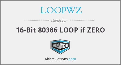 What does LOOPWZ stand for?