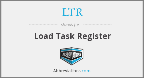 LTR - Load Task Register