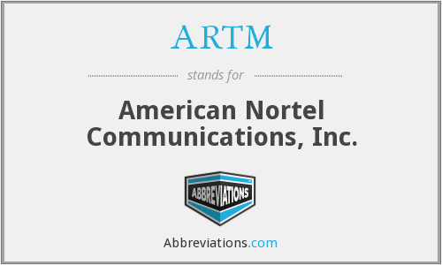 What does ARTM stand for?