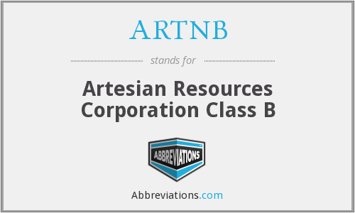 What does ARTNB stand for?