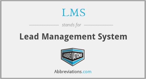 LMS - Lead Management System