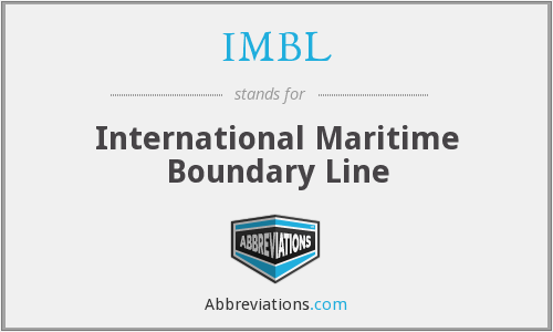IMBL - International Maritime Boundary Line