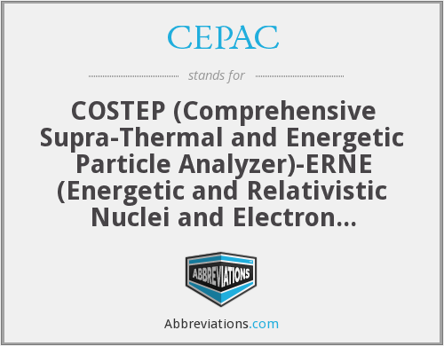 CEPAC - COSTEP (Comprehensive Supra-Thermal and Energetic Particle Analyzer)-ERNE (Energetic and Relativistic Nuclei and Electron experiment) Particle Analysis Collaboration