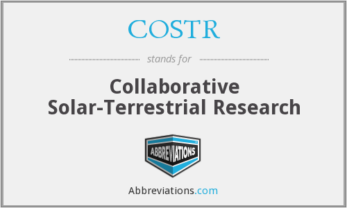 What does COSTR stand for?