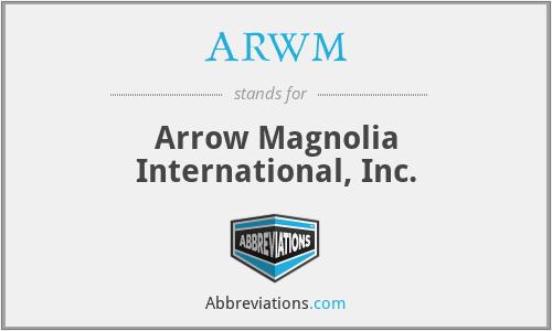 ARWM - Arrow Magnolia International, Inc.