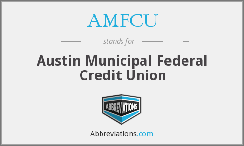 What does AMFCU stand for?