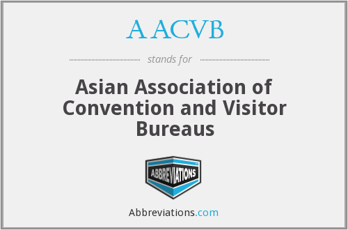 AACVB - Asian Association of Convention and Visitor Bureaus