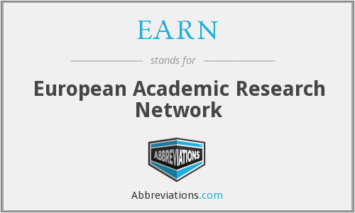 EARN - European Academic Research Network