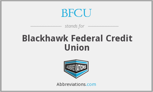 BFCU - Blackhawk Federal Credit Union