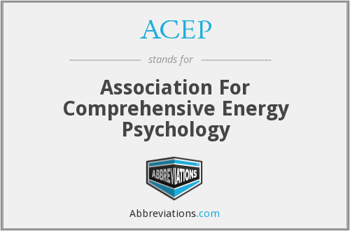 ACEP - Association For Comprehensive Energy Psychology