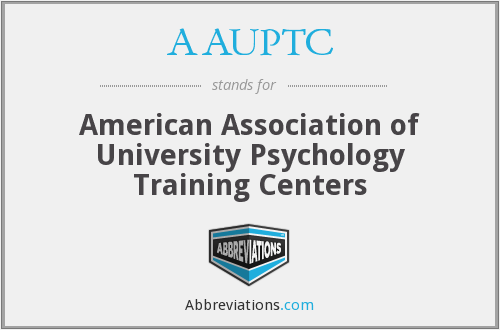 AAUPTC - American Association of University Psychology Training Centers