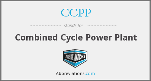 CCPP - Combined Cycle Power Plant