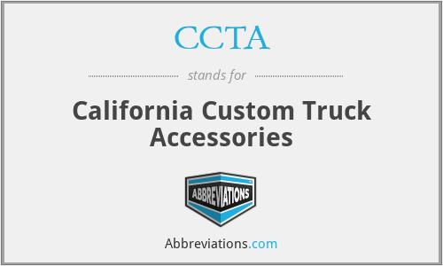 CCTA - California Custom Truck Accessories